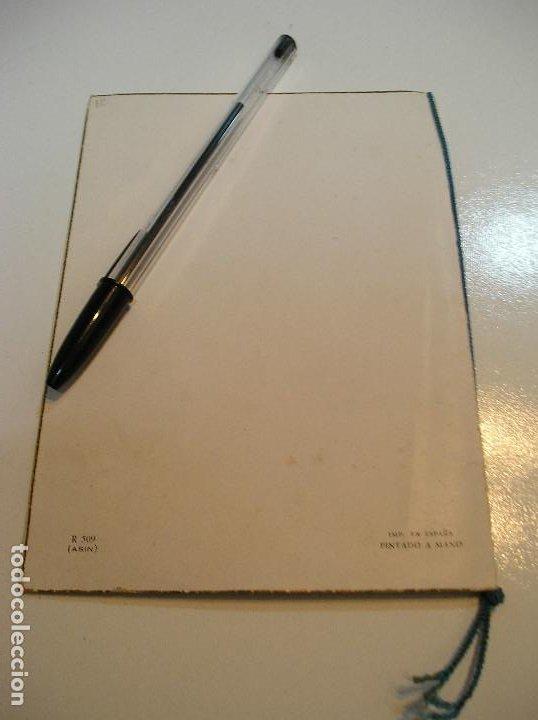 Postales: ANTIGUA POSTAL PINTADA A MANO AÑOS 50 APORTO MUCHAS FOTOS - Foto 5 - 203560035
