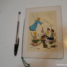 Postales: ANTIGUA POSTAL PINTADA A MANO AÑOS 50 APORTO MUCHAS FOTOS. Lote 203560035
