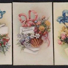 Postales: 6045E - C. VIVES - LOTE DE 3 POSTALES EDICIONES CYZ SERIE 536 - AÑOS 1950. Lote 203757455