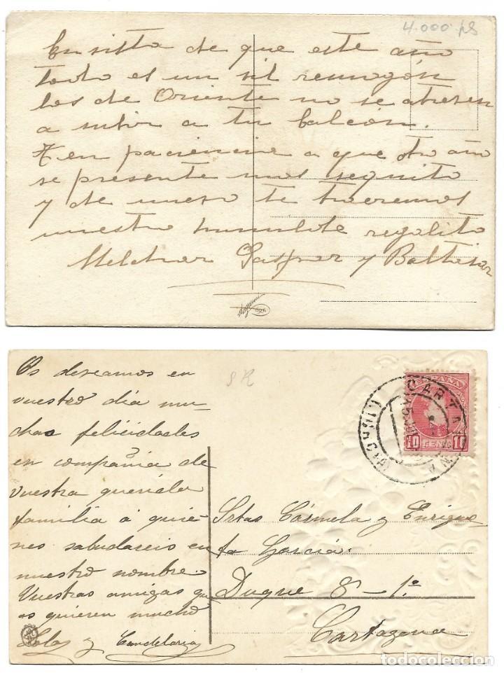 Postales: LOTE 19 POSTALES PRINCIPIOS SIGLO XX CON 9 DE ELLAS CIRCULADAS. MUY BUEN ESTADO - Foto 5 - 205435882