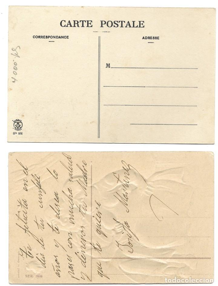 Postales: LOTE 19 POSTALES PRINCIPIOS SIGLO XX CON 9 DE ELLAS CIRCULADAS. MUY BUEN ESTADO - Foto 7 - 205435882