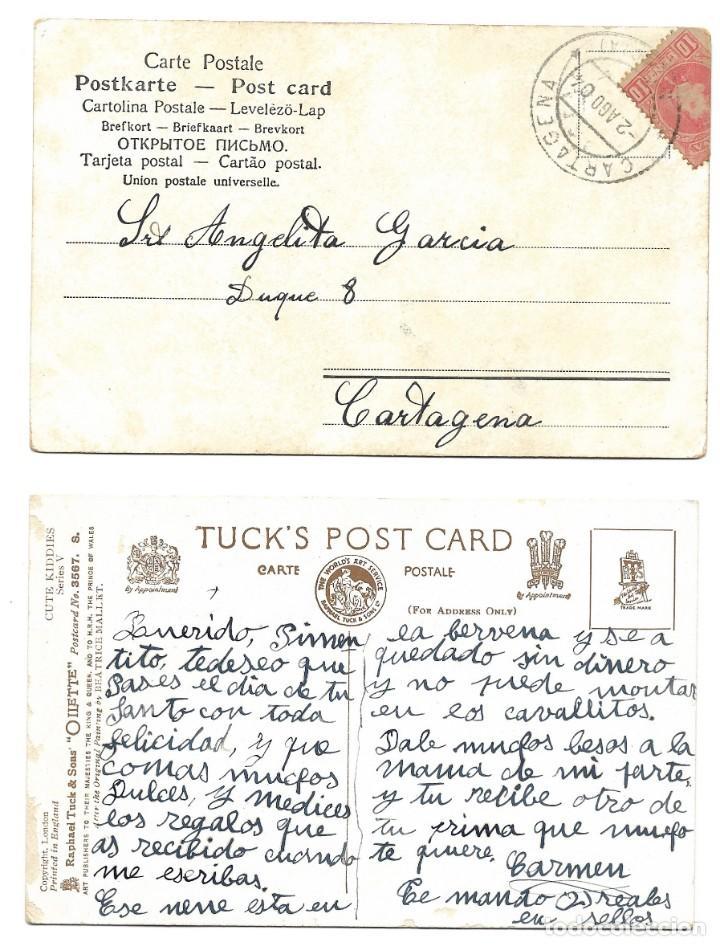 Postales: LOTE 19 POSTALES PRINCIPIOS SIGLO XX CON 9 DE ELLAS CIRCULADAS. MUY BUEN ESTADO - Foto 13 - 205435882