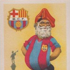 Cartes Postales: BARCELONA CLUB DE FUTBOL - EQUIPOS DE FÚTBOL, SERIE A - TARJETA POSTAL - EDICIONES JUFRAN - S/C. Lote 205749260