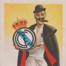 Cartes Postales: REAL MADRID CLUB DE FUTBOL - EQUIPOS DE FÚTBOL, SERIE A - TARJETA POSTAL - EDICIONES JUFRAN - S/C. Lote 205749345