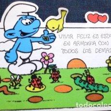 Postales: VINTAGE POSTAL DE PITUFO NO 5 AÑOS 80S. Lote 205855196