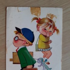 Postales: TARJETA POSTAL - PAREJAS INFANTILES Nº 6 - EDIC - BERGAS. Lote 206458725