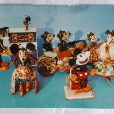 Postales: POSTAL DE MICKEY MOUSE. COLECCIONISTA ANDRES DIEGO DIESTRO. AÑOS 80S.. Lote 206514448