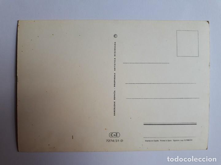 Postales: POSTAL DIBUJO PAREJA ROMÁNTICA. ILUSTRADO POR BENI. AÑOS 70 - Foto 2 - 206521315