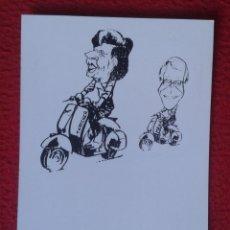 Postales: POST CARD CARTOONS HUMOR HUMOUR JOHN MAJOR MAGGIE MARGARET TATCHER POLITIC VESPA ? MOTO MOTORCYCLE... Lote 207012738