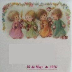 Postales: P165 - LISI MARTIN - PRECIOSO RECORDATORIO PAPEL VEGETAL- 01.02.052.3- 1976. Lote 207114630