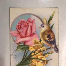 Postales: FELICIDADES. POSTAL ILUSTRADA. C. VIVES. EDITA: C Y Z , S/550 B. (H.1950?) ESCRITA... Lote 207137301