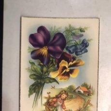 Postales: FELICIDADES. POSTAL ILUSTRADA. C. VIVES. EDITA: C Y Z , S/559 A, NO.3, (A.1955) ESCRITA... Lote 207137431