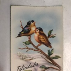 Postales: FELICIDADES. POSTAL ILUSTRADA. C. VIVES. EDITA: C Y Z , S/565 (H.1950?) ESCRITA... Lote 207138045