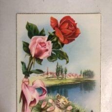 Postales: FELICIDADES. POSTAL ILUSTRADA. C. VIVES. EDITA: C Y Z , S/532 B (H.1950?) ESCRITA.... Lote 207138546