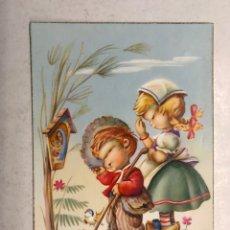 Postales: DIBUJOS Y CARICATURAS. POSTAL ILUSTRA J. VERNET. EDIC. C Y Z S/547 B (A.1966) ESCRITA. Lote 207250042