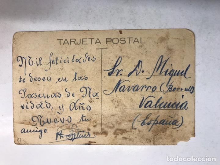 Postales: DIBUJOS Y CARICATURAS, Postal: Pepito, Bello y Galán, ofrece a V. sus servicios... (años 30) - Foto 2 - 207250055