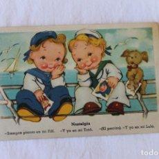 Postales: POSTAL CARICATURAS, NOSTALGIA, EDICIONES COLORN, SERIE 100 P. Lote 207478322