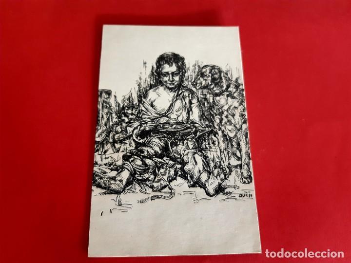 Postales: POSTAL 1938 ILUSTRACIÓN DE DUCH CENSURADA POR LA REPUBLICA TIMBRE DE MANILA - Foto 2 - 210322088