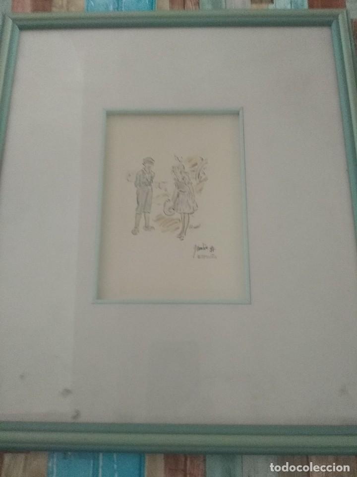 DIBUJO ANTIGUO DE CASTRO (Postales - Dibujos y Caricaturas)