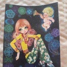 Cartes Postales: SIMPÁTICA POSTAL, A ESTRENAR AÑOS 60 Y 70 REF. 312-B EDITORIAL SJ LUSTRACIÓN GEMA*. Lote 210453446