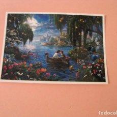 Postales: POSTAL DE ILUSTR. THOMAS KINKADE. SERIE DISNEY DREAMS COLLECTION. SIRENITA, ARIEL. ED. AB PICTURE.. Lote 210579146