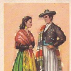 Postales: ALICANTE. SERIE POSTALES ILUSTRADAS POR TUSER TRAJES TIPICOS ED. LAIETANA. SIN CIRCULAR. Lote 210644305