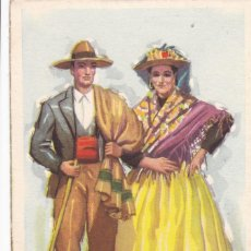 Postales: AVILA. SERIE POSTALES ILUSTRADAS POR TUSER TRAJES TIPICOS ED. LAIETANA. SIN CIRCULAR. Lote 210644695