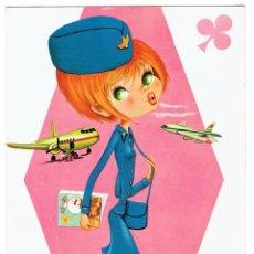 Postales: POSTAL DIBUJADA, AÑOS 50 Y 60, , FIRMA A.OLIVA, EDICIONES BV, SIN CIRCULAR. Lote 211450045