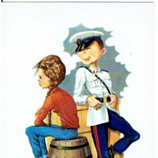 Postales: POSTAL DIBUJADA, AÑOS 50 Y 60, , FOTOCOLOR VALMAN, SIN CIRCULAR. Lote 211450394