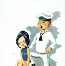 Postales: POSTAL DIBUJADA, AÑOS 50 Y 60, , FOTOCOLOR VALMAN, SIN CIRCULAR. Lote 211450612