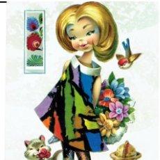Postales: POSTAL DIBUJADA, AÑOS 50 Y 60, FIRMA, VERNET, CYZ , SIN CIRCULAR. Lote 211451392