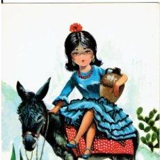 Postales: POSTAL DIBUJADA, AÑOS 50 Y 60, FIRMA, SAVIR , CIRCULADA CON SU SELLO. Lote 211451540