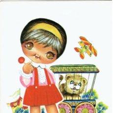 Postales: POSTAL DIBUJADA, AÑOS 50 Y 60, FIRMA, ROY, EUROCROMO, SIN CIRCULAR. Lote 211451654