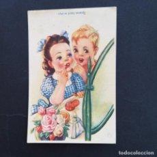Cartes Postales: ANTIGUA POSTAL DE DIBUJOS Y CARICATURAS. ASI SE PINTA MAMÁ. EDIT. ARTE. 8/120.(P124). Lote 212213825