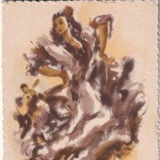 Postales: POSTAL DIGUJO P. CLAPERA RECUERDO DE ESPAÑA PUBLICIDAD PARTE DETRAS E. ARTE ESPAÑOL. Lote 212889161