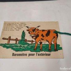 Postales: POSTAL BAROMÈTRE POUR L'EXTÉRIEUR. Lote 213874328