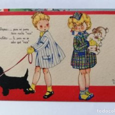 Postales: POSTAL, COLECCION MARI PEPA, SERIE F Nº 1, DIBUJO MARIA CLARET. Lote 214265508