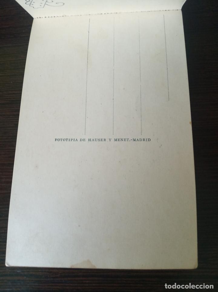 Postales: Postal sin circular. Peluquero Moro. Dibujo V de S. Fototipia de Hauser y Menet. Madrid. - Foto 2 - 214548167