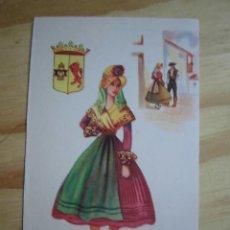 Postales: POSTAL ANTIGUA TRAJE TÍPICO CÁCERES EDICIONES F. MOLINA SIN CIRCULAR. Lote 254591105
