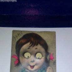 Postales: ANTIGUA POSTAL AÑO 1926 ES UNA MUÑECA CON OJOS OSCILANTES ,ESTA ESCRITA.RARA DE CONSEGUIR. Lote 215832536