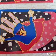 Postales: POSTAL CLUB SUPER 3 (4 UNIDADES) 1990. Lote 218961865