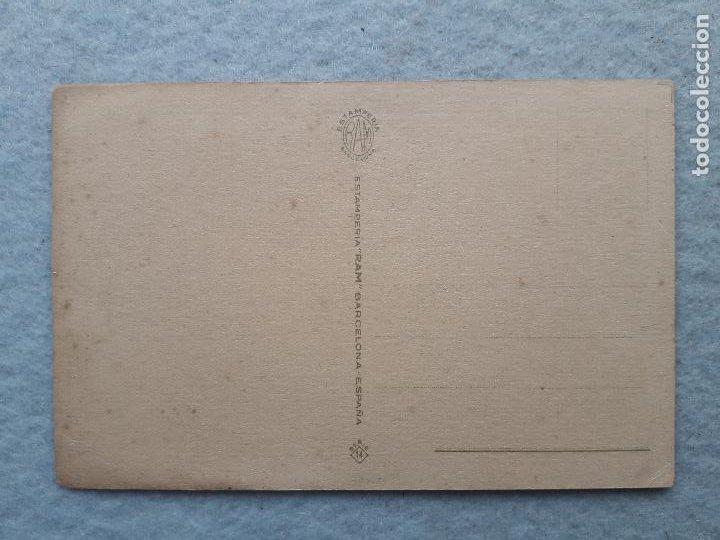 Postales: Postal antigua con chiste. Firmada por Muntañola. Escrita. - Foto 2 - 221693488