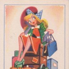 Postales: ILUSTRADOR: GRIS, NO ES UN TRASLADO - EDICIONES TRIO SERIE 29 - ESCRITA 1947. Lote 222371685