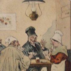 Postales: P-11663. EN NORMANDIE. LA IOUETRE DE MANILLE. POSTAL COLOREADA FRANCESA. PRS. 1912. Lote 222551701