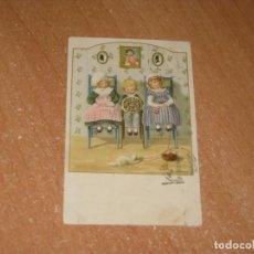 Postales: POSTAL DE PAULI EBNER ILUSTRADA. Lote 224114448