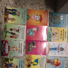 Postales: 15 POSTALES TARJETAS FRASES SERVILIBRO. Lote 224663083