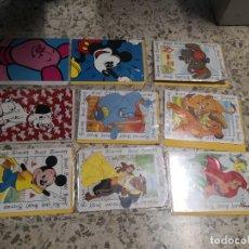 Postales: 9 TARJETAS FELICITACIONES SERIE DIBUJOS ANIMADOS. Lote 224663513