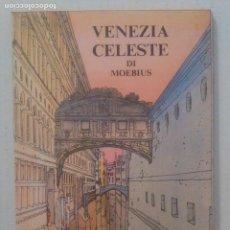 Postales: ILUSTRADOR: *MOEBIUS* ED. LO VECCHIO. SERIE COMPLETA *VENEZIA CELESTE*. NUEVAS.. Lote 229018330