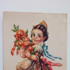 Postales: P207 POSTAL DIBUJO REGIONALES - SERIE REGIONALES INFANTILES, VALENCIA 6/108. Lote 230557465
