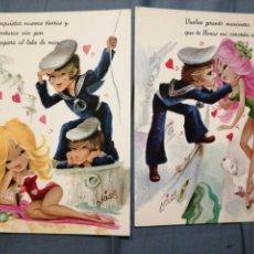 Postales: LOTE 3 POSTALES COLECCIÓN CYZ 7106. Lote 234429665